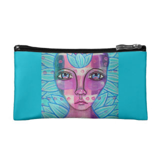 Lotus Faery Makeup Bags