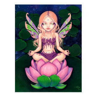 """Lotus Fairy"" Postcard"