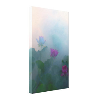 Lotus Fairyland Photographic Art -9 Canvas Print
