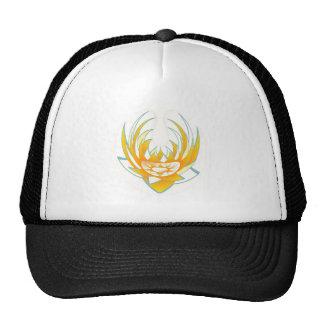 LOTUS Fire Energy Design Trucker Hat