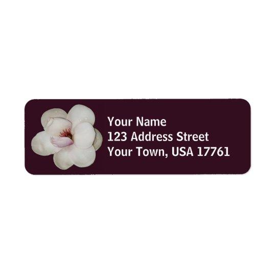 Lotus Flower Address Labels