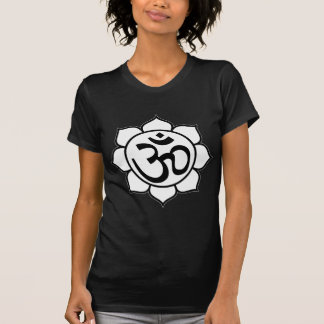 Lotus Flower Aum Symbol T-Shirt