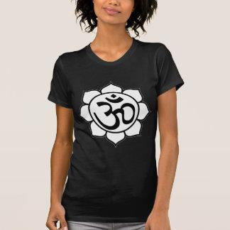 Lotus Flower Aum Symbol Tshirt