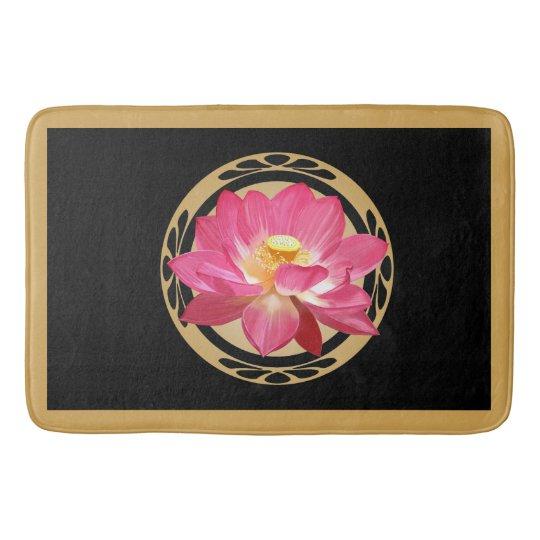 Lotus Flower Bath Mat 02 Bath Mat