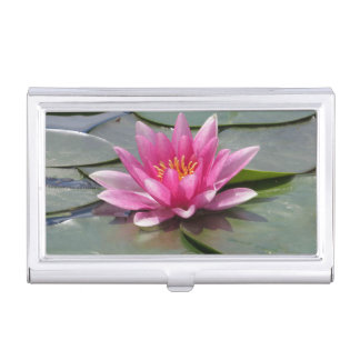Lotus Flower Business Card Case