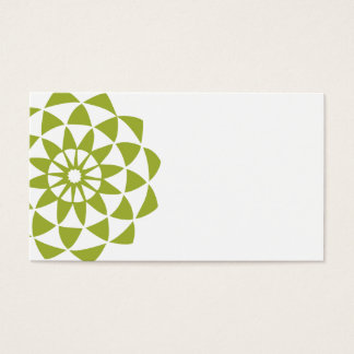 Lotus Flower Business or Calling Card