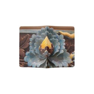 Lotus Flower Custom Passport Holder