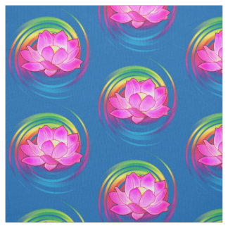 Lotus Flower Fabric