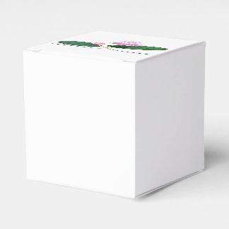 Lotus flower favor box