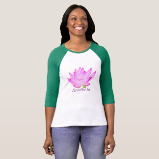 Lotus Flower Inspirational Shirt