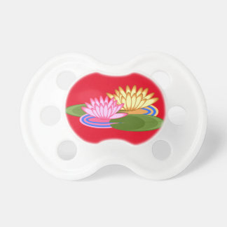 Lotus flower pacifier