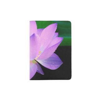 Lotus Flower Passport Holder