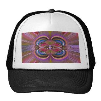 LOTUS Flower Pattern Sensual Red Graphic GIFTS FUN Trucker Hat