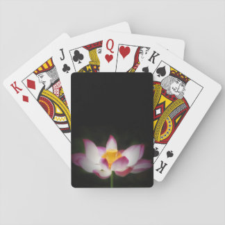 Lotus Flower Photography Great Yoga Om Gift Poker Cards