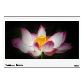 Lotus Flower Photography Great Yoga Om Gift! Wall Sticker