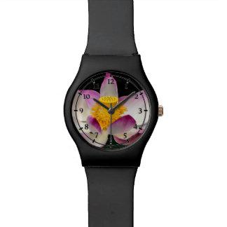 Lotus Flower Photography Great Yoga Om Gift Wrist Watch