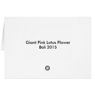 lotus flower,pink lotus,lily pad, pond, water, card