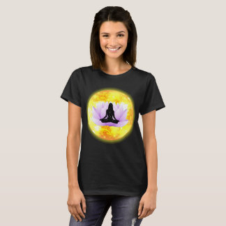 Lotus Flower Pose in the Sun T-Shirt