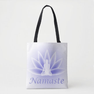 Lotus Flower Pose Namaste Tote