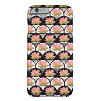 Lotus Flower Retro Barely There iPhone 6 Case