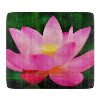 Lotus Flower Vivid Watercolor Boards