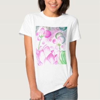 Lotus Flower Watercolor 3 Tshirt