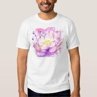 Lotus Flower Watercolor 4 T Shirt