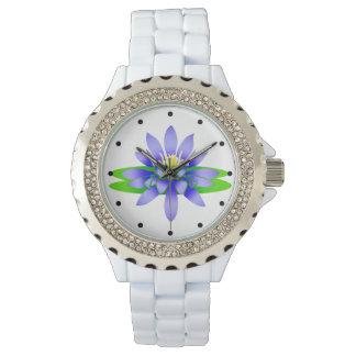 Lotus Flower Wrist Watch