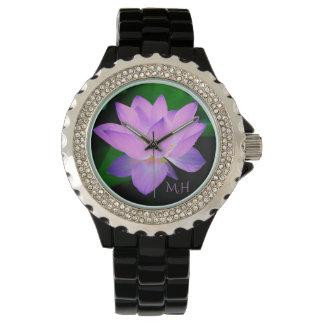 Lotus Flower Wrist Watches