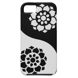 Lotus Flower Yin Yang Case For The iPhone 5