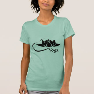 Lotus Flower Yoga Crew Neck T-Shirt