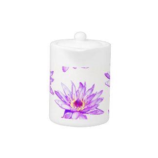 lotus flowers cream inky