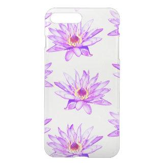 lotus flowers cream inky iPhone 8 plus/7 plus case