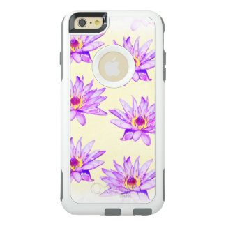 lotus flowers cream inky OtterBox iPhone 6/6s plus case