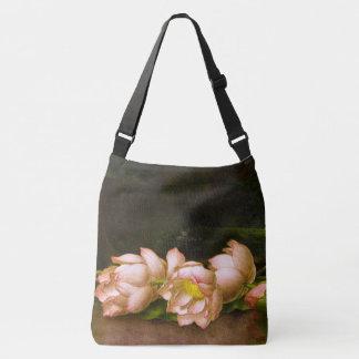 Lotus Flowers Heade All Over Print Tote Bag