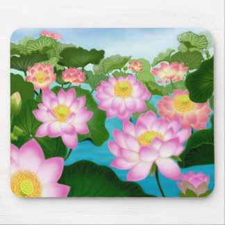 Lotus Flowers Mousepad