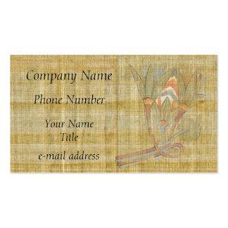 Lotus Flowers-Papyrus Business Card