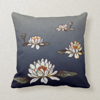 Lotus Flowers Pillow