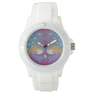 Lotus Fractal Art Watch