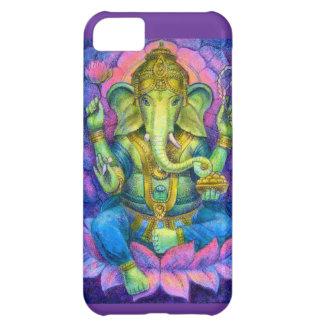 Lotus Ganesha iPhone 5 Case Lucky Hindu Elephant
