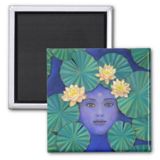 Lotus Goddess Magnet
