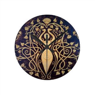 Lotus Goddess Wall Clock