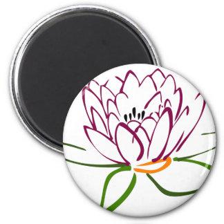 Lotus Heart Magnet