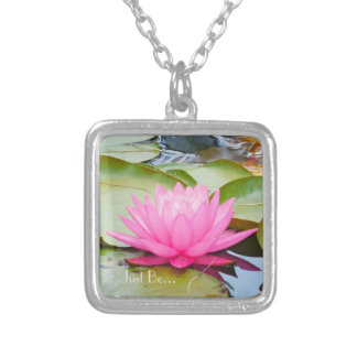 lotus (just be) necklace