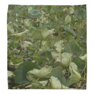 Lotus Leaves Bandana