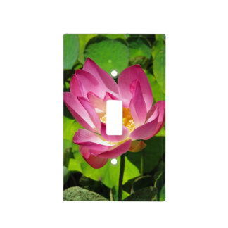 Lotus Light Switch Cover