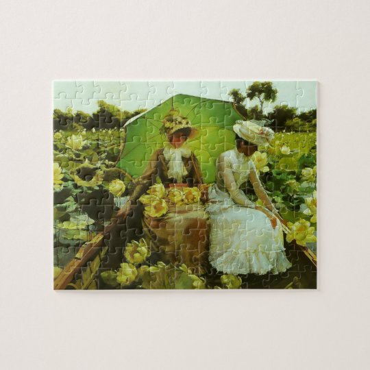 Lotus Lilies by Charles Courtney Curran Jigsaw Puzzle
