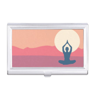 Lotus Love Business Card Holder