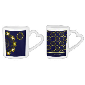 Lotus Mandala (Henna) Coffee Mug Set