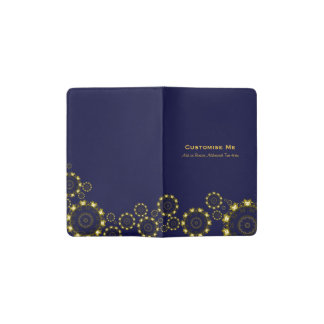 Lotus Mandala (Henna) (Golden) Pocket Moleskine Notebook